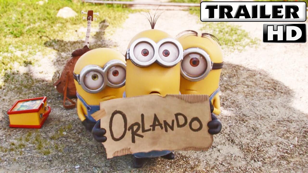 Los Minions Trailer 2015 Español Youtube