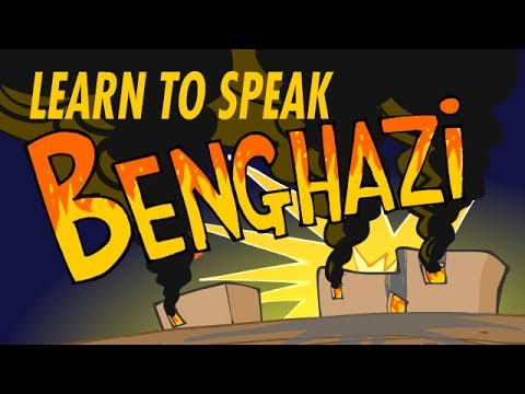 Learn to Speak Benghazi