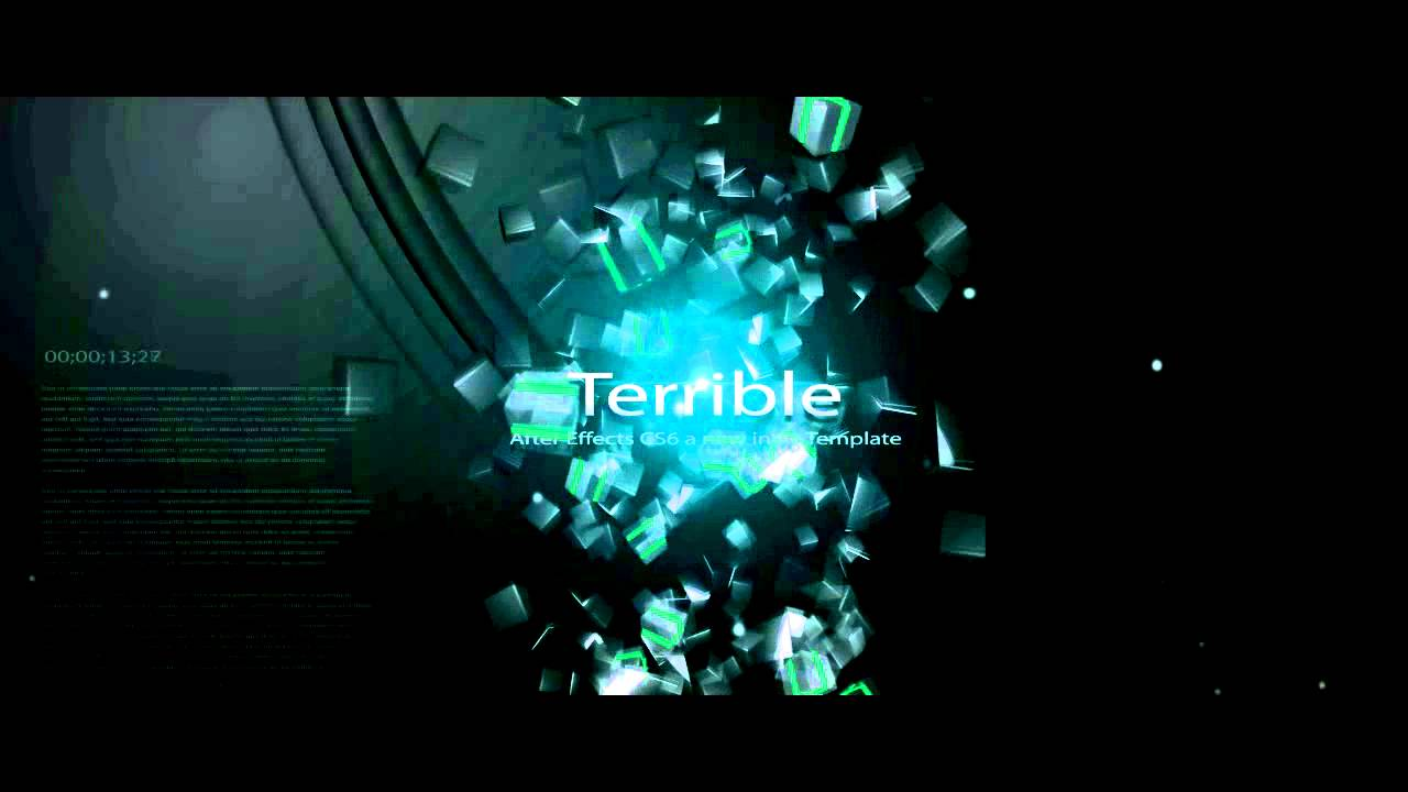 Free Intro Template Adobe After Effects CS6 Amazing - YouTube