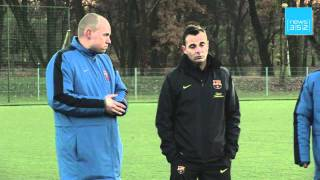 FC Barcelona launches new football academy in Poland