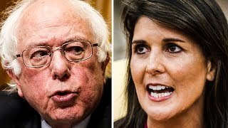 Nikki Haley Tries To Attack Bernie Sanders, Shows How Dumb She Is Instead