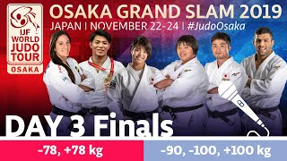 Judo Grand-Slam Osaka 2019: Day 3 - Finals