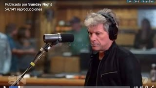 BON JOVI -This House Is Not For Sale - ( LIVE ) SUNDAY NIGHT EXCLUSIVE