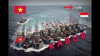 TANGKAP PERMALUKAN! TNI ALdan BAKAMLA Pecundangi  Ratusan Kapal Pencuri Vietnam