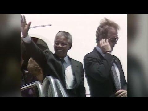 """Quand les Etats-Unis considéraient Mandela comme un """"terroriste"""""""