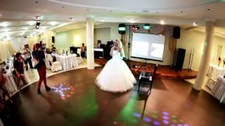 Оригинальный подарок,сюрприз от невесты для жениха на свадебном банкете