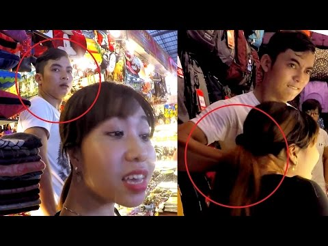 Jealous Vietnamese Man Beats Girl For Talking To Foreigner