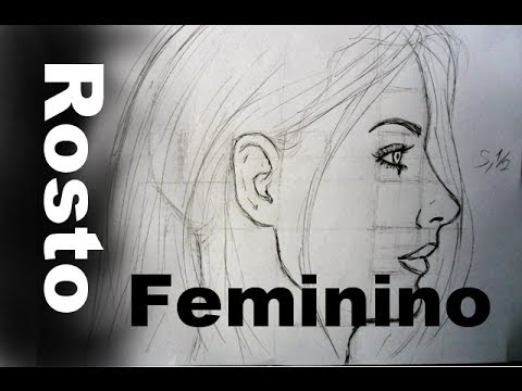 02 Perfil Rosto Feminino Como Desenhar Youtube