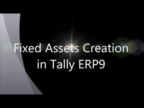 Fixed Assets Creation in Tally ERP9, Fixed Assets purchase entry
