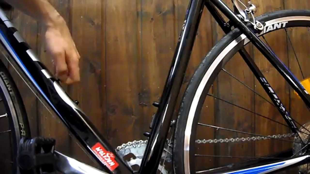 DIY Fahrradlumftpumpe montieren - Luftpumpe am Fahrrad anbauen - YouTube
