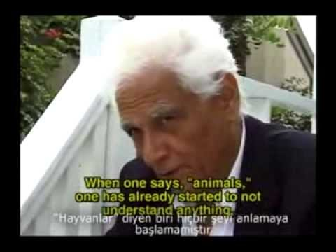 Jacques Derrida And The Question Of The Animal - Türkçe