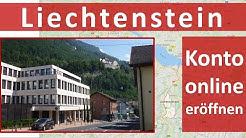 Liechtenstein ► Konto online eröffnen?