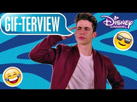 GIF-TERVIEW mit: Cameron Boyce 👨🏻 | Disney Channel
