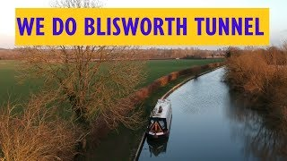 We lunch in Blisworth Tunnel on our Narrowboat! No Ghosts and we come out the other end!