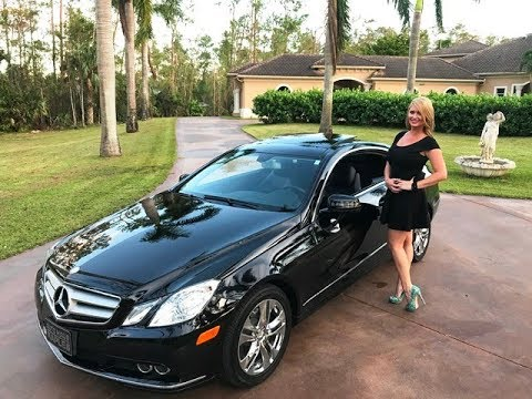 SOLD 2010 Mercedes-Benz E350 Coupe, only 21K Miles, for ...