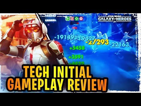 Tech Dismantles Commander Luke and Grievous! – Tech Initial Gameplay Review Testing Before Bad Batch