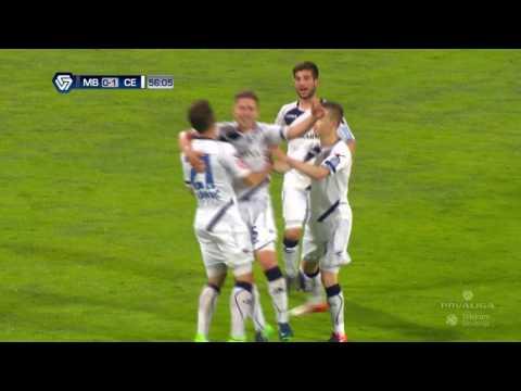 34. krog: Maribor - Celje 0:2 ; Prva liga Telekom Slovenije 2016/17
