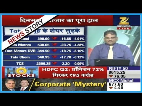 Downfall of 1 percent in Nifty and Sensex