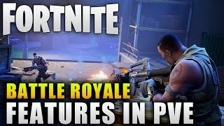 "Fortnite ""Battle Royale Features That Should Be in PvE"" Fortnite Battle Royale Features"