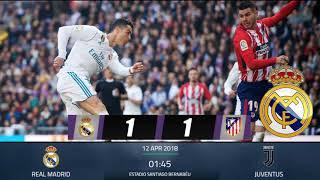 PREDIKSI SKOR REAL MADRID VS JUVENTUS 12 APRIL 2018