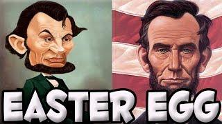 GTA V Online - Easter Egg de Abraham Lincoln.
