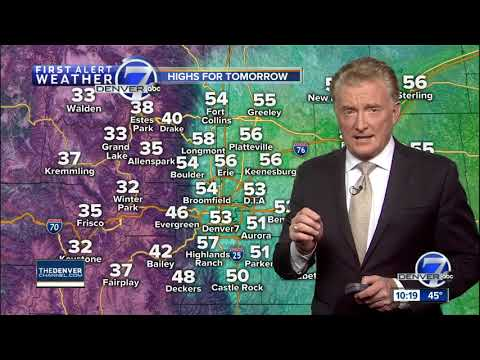 Snow for the mountains, windy on the plains
