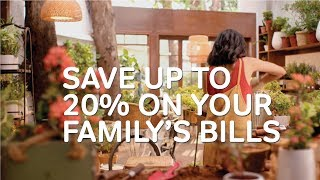 Up to 20% savings on family's mobile bills - Airtel Postpaid Promise thumbnail