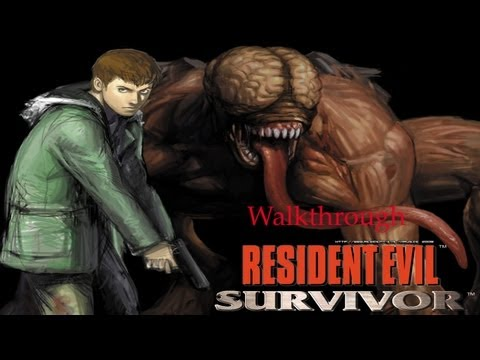 Resident evil Gun survivor - Ark Thompson- Alberto blaze Walkthrough