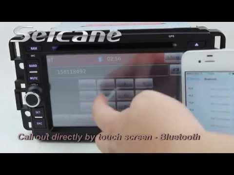 Upgrade GMC Yukon Denali Head Unit, Auto AV Radio TV Bluetooth USB SD IPod