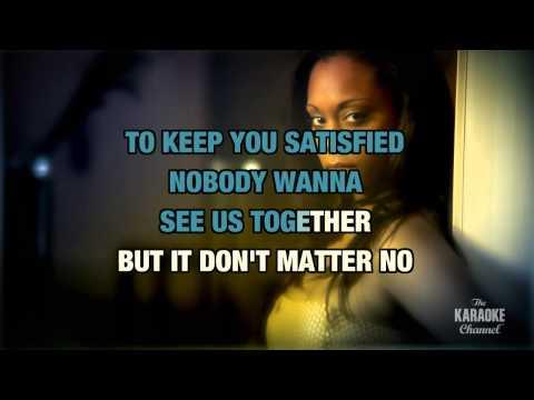 Don't Matter (Radio Version) in the style of Akon | Karaoke with Lyrics