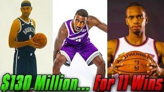 Building The WORST NBA 2K19 Team OVER The Luxury Tax