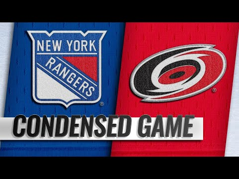 10/07/18 Condensed Game: Rangers @ Hurricanes