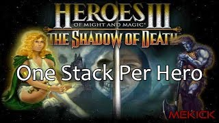 Heroes of Might and Magic III: One Stack Per Hero 1v7 FFA (200%)