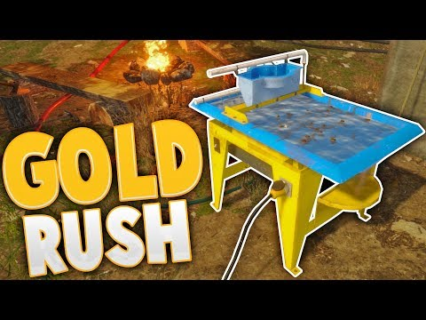 Gold Rush - Fully Automated Gold Mining! - The Wave Table -