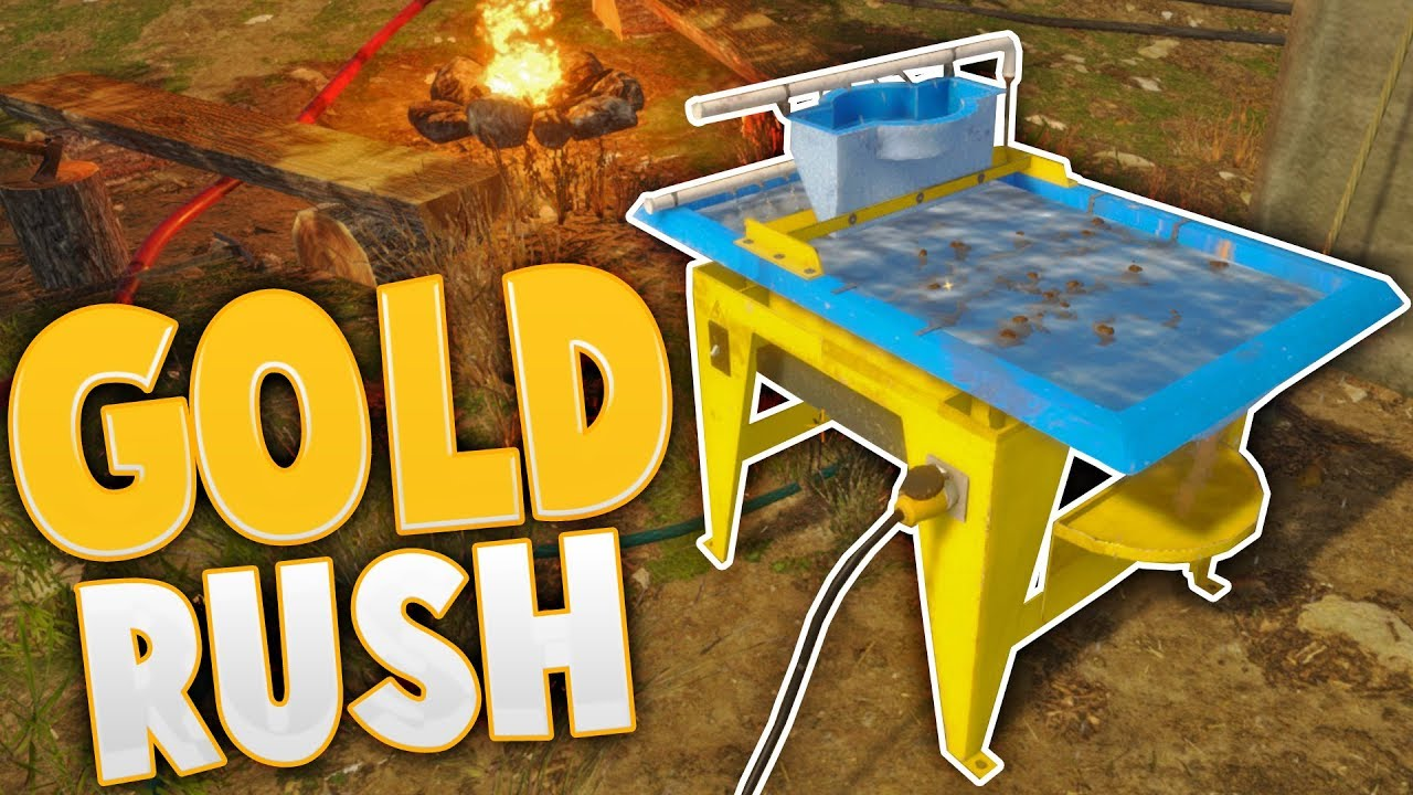 Gold Rush Fully Automated Gold Mining The Wave Table Gold Rush The Game Gameplay Highlights