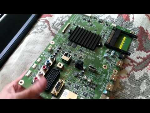 видео: tv  toshiba 32l4363dg \ после грозы - прошивка