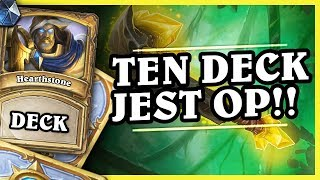 TEN DECK JEST OP! - ODD PALADIN - Hearthstone Deck (The Boomsday Project)