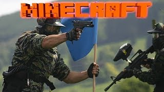 Захват Флага в Minecraft: Мини Игры