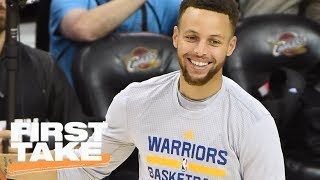 Vegas Likes Warriors Over '9596 Bulls | First Take | June 6, 2017