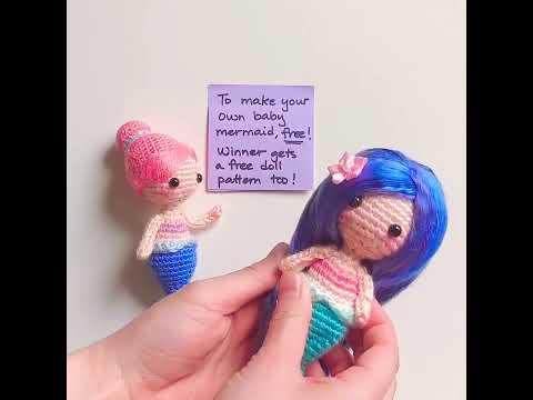 Free Mermaid Crochet Pattern | Mermaid crochet pattern free ... | 360x480