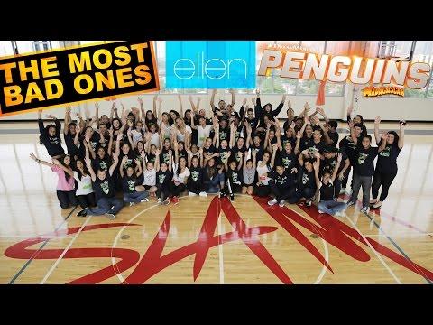 The Most Bad Ones visit Pitbull's SLAM! Charter School for Ellen!