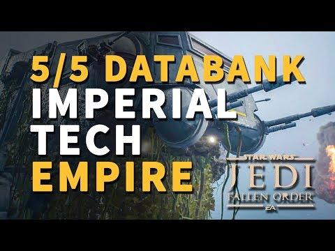 Imperial Tech Empire All Databank Locations Star Wars Jedi Fallen Order