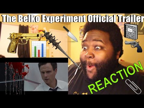 The Belko Experiment Red Band Trailer 1 Reaction
