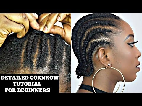 how-to-cornrow-your-own-short-natural-hair-tutorial