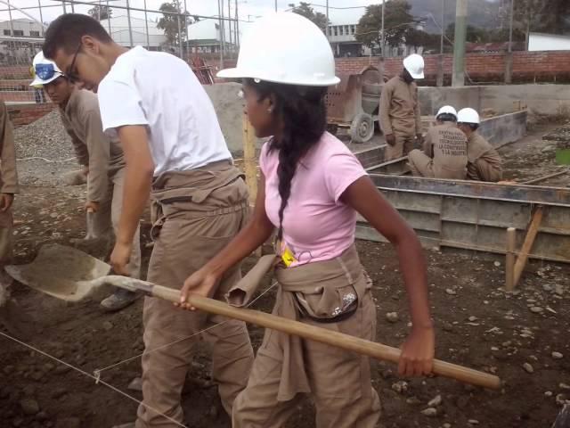 Practicas aprendices Sena Quindio-Centro Construcción