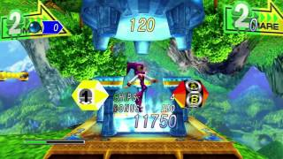Nights into dreams HD first look and gameplay. (Xbox 360)