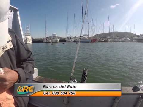 Pesca embarque Puerto Piriapolis Barcos del Este, Uruguay