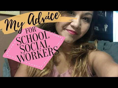 Advice + Resources + Tips For New School Social Workers || Part 1