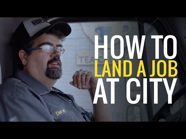 How to land a job at CITY | Route Service Rep. Derek Miller