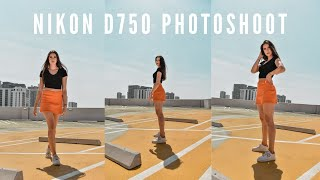 NIKON D750 PHOTOSHOOT // Nikon 24-120mm f/4 Kit Lens // Miami Portrait Photoshoot